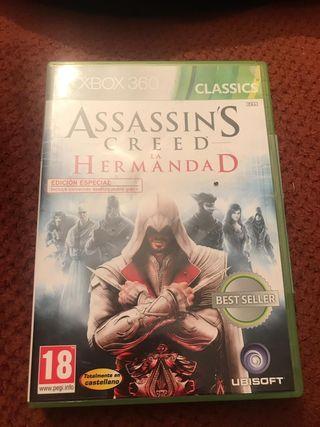 Assassins Creed Hermandad Xbox 360