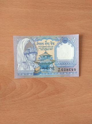 billete del Nepal