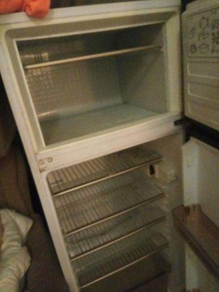 Nevera con congelador Vintage