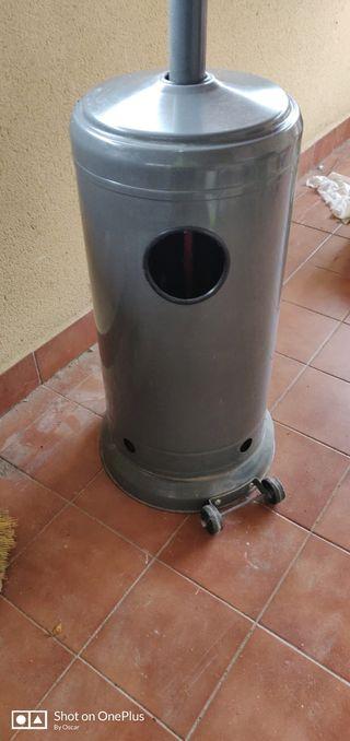 Estufa gas exterior