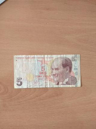 billete de turkia