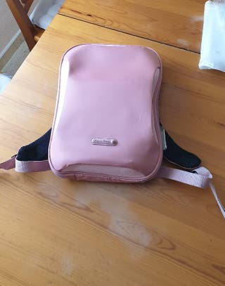 Mochila rosa para tablet o portátil hasta 10'