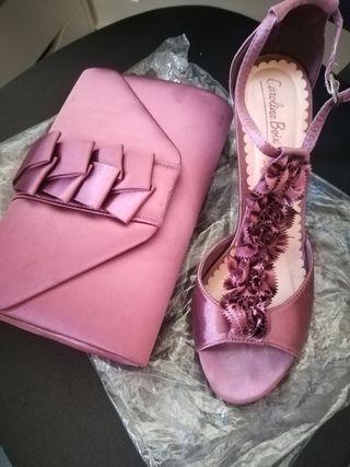 Bolso y zapatos talla 37
