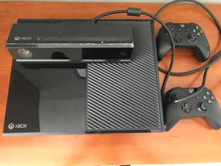 Xbox one 500gb con kinect y un mando