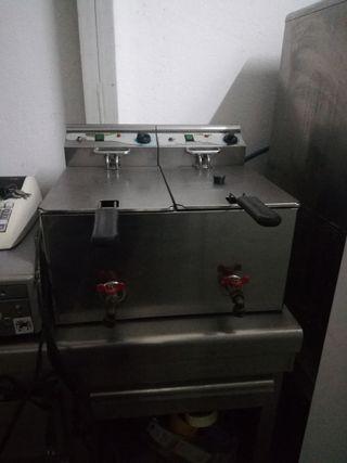 freidora 2 senos 10 litros