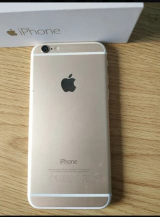 Móvil iPhone 6s, 64gb. Color oro. Libre