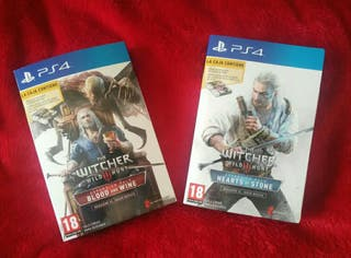 THE WITCHER 3 Expansiones Cartas Gwynt + Extras