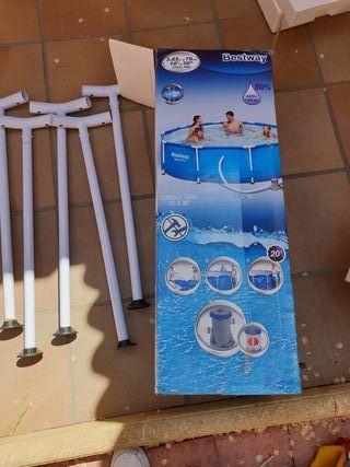 Pies de fuerza de piscina bestway