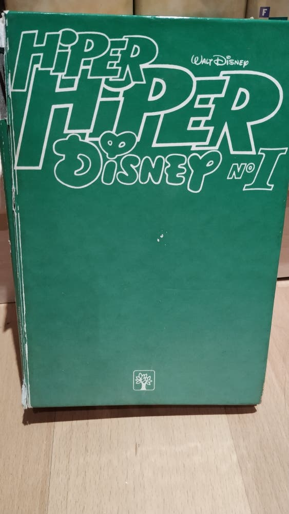 Cómic Hiper Disney Mickey Mouse