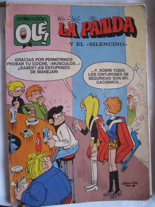 comic tebeo olé la panda y el silencino 1ª ed 1971