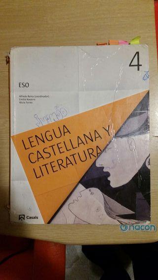 Libro de texto Lengua y Literatura 4 ESO