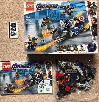 """LEGO AVENGERS ENDGAME 76123 """"SIN FIGURAS"""""""