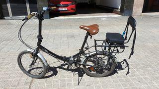 Bicicleta plegable 20 pulgadas