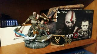 God of War PS4 Ed. Collector/Coleccionista