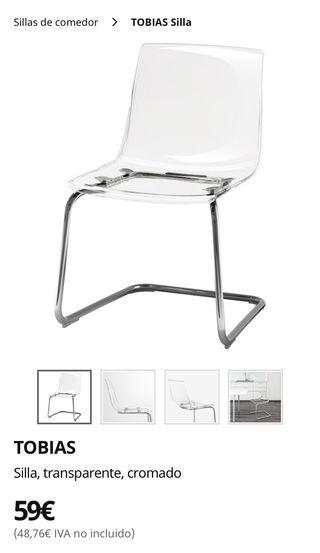 Dos Ikea De Hermanas Segunda En Sillas Mano Wallapop WEHID29Y