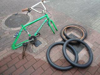 CUADRO BICICLETA BH CALIFORNIA BMX RESTAURAR