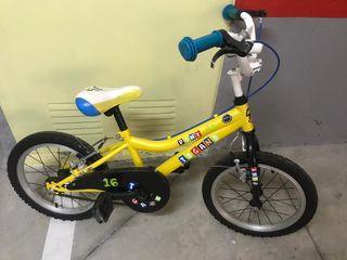 Bicicleta niño togano