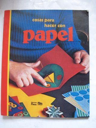 libro plesa sm cosas para hacer con papel