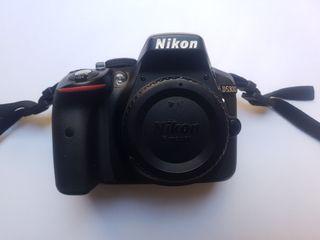 Nikon D5300 + nikkor 18-55 vr