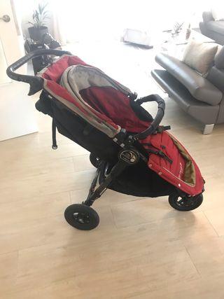 Baby Jogger City Mini GT más capazo blando
