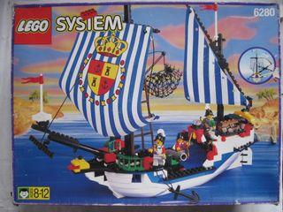 lego barco pirata en caja muchas piezas o sueltas