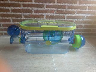 Hábitat para hamster
