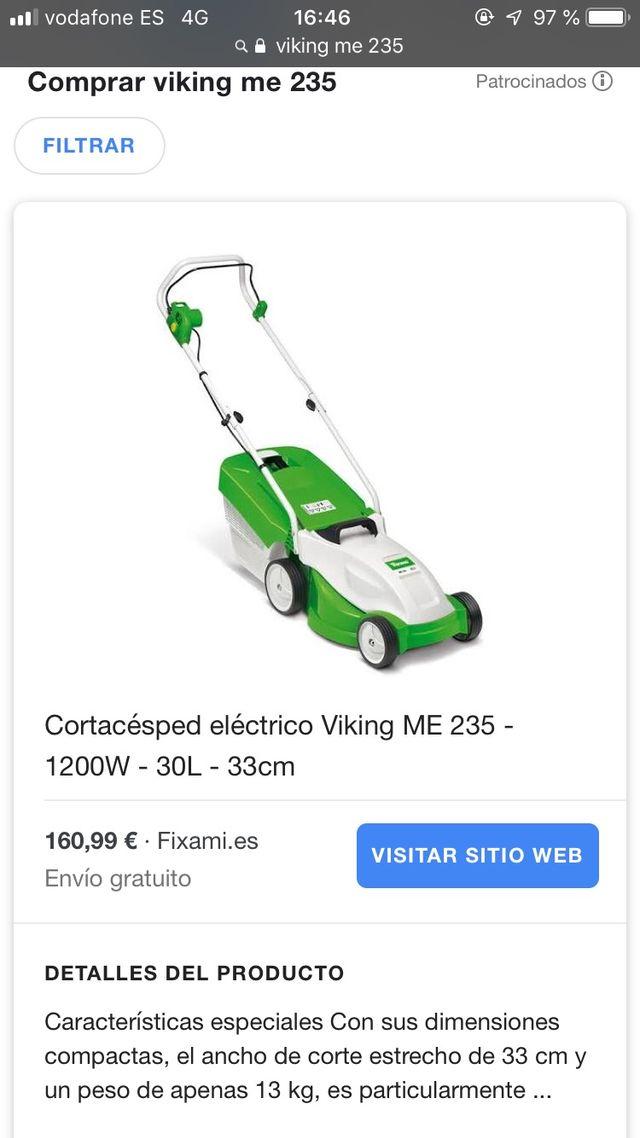 Cortacésped viking ME 235