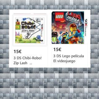 JUEGOS NINTENDO 3 DS