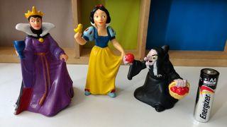 Pack figuras Disney Blancanieves bruja y madrastra
