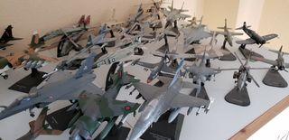 Aviones/naves, maquetas de colección.