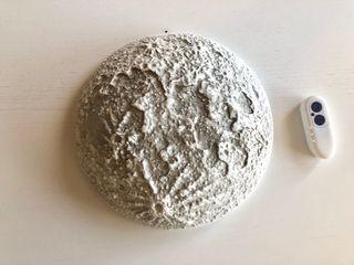 Luna de pared. Lámpara luna con fases lunares