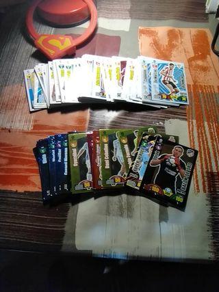cartas de fútbol adrenalyn