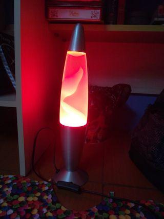 lámpara de laba