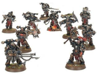 Marines del caos Shadowspear