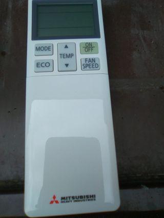 mandos a distancia aire acondicionado mitsubishi