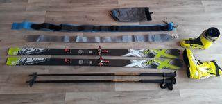 kit de esquí de travesía GANGA