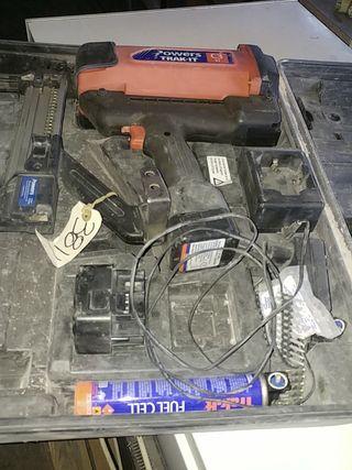 pistola de tiros