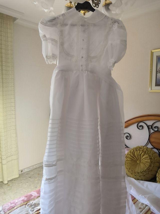 Vestido de comunión niña t38 en perfecto estado