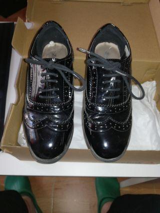Zapatos Oxford número 36