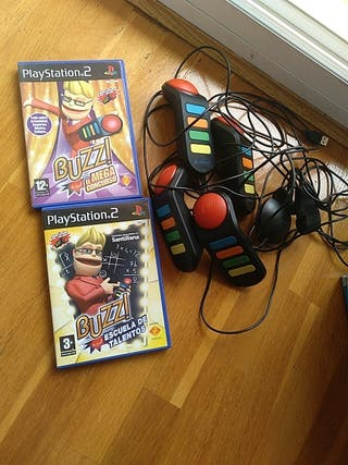 Pack Buzz PlayStation 2