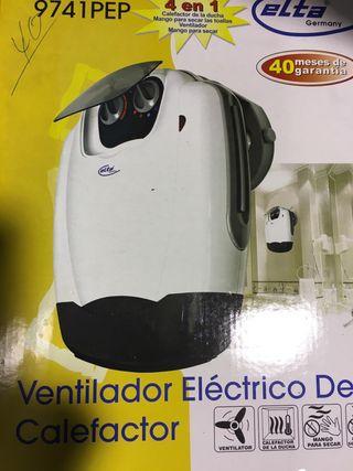 Calefactor-Ventilador eléctrico
