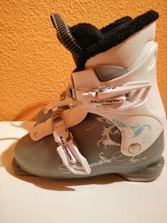 botas esquí 21 21,5