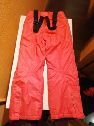 chaqueta y pantalón esquí niña