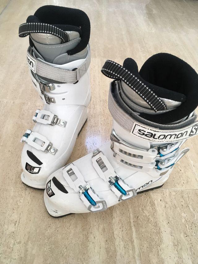 Botas de esquí mujer/niña