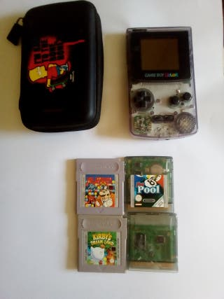 GAME BOY COLOR +4 JUEGOS