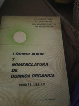 Formulación y nomenclatura de química orgánica.