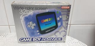 Gameboy Advance en caja Transparente