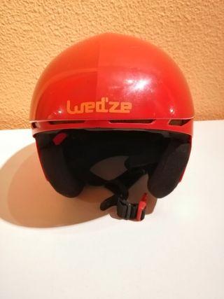 casco esquí