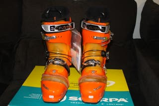 Botas esquí travesía SCARPA F3 a estrenar