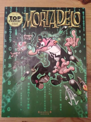 Mortadelo Top Cómic n° 9